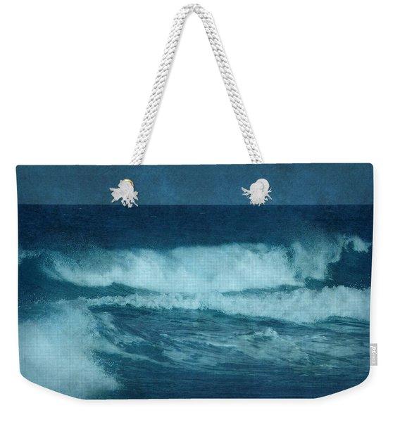 Blue Waves - Jersey Shore Weekender Tote Bag