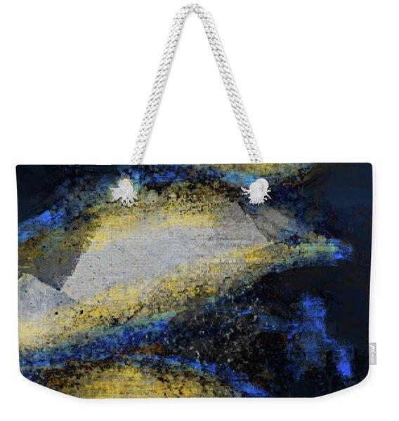 Blue Whales Weekender Tote Bag