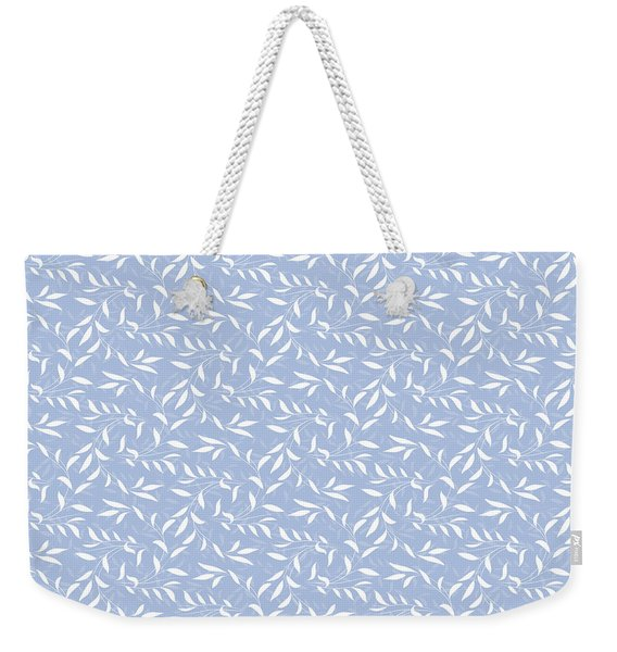 Blue Willow Elegance Weekender Tote Bag