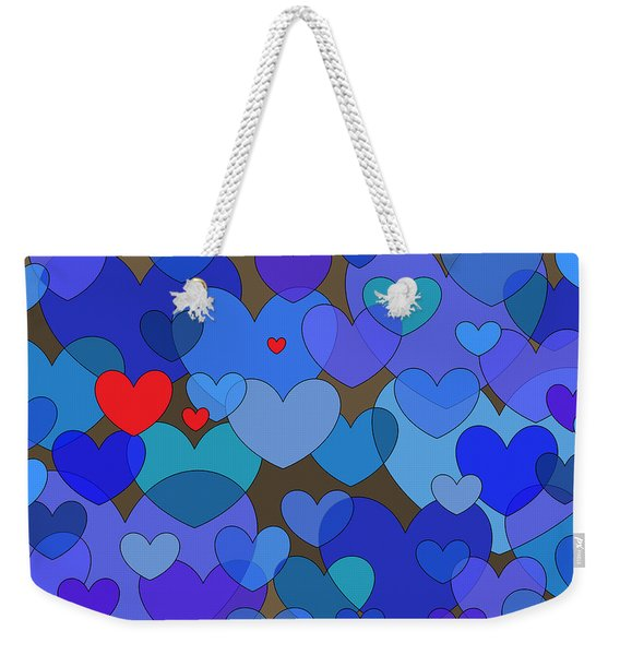 Blue Without You Weekender Tote Bag