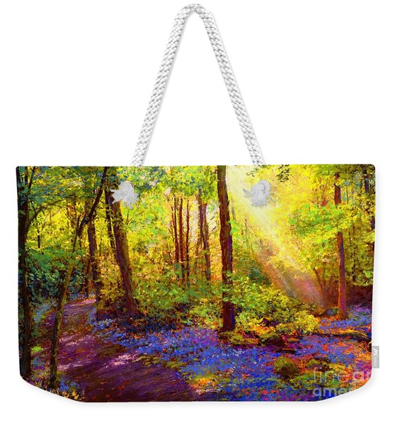 Bluebell Blessing Weekender Tote Bag
