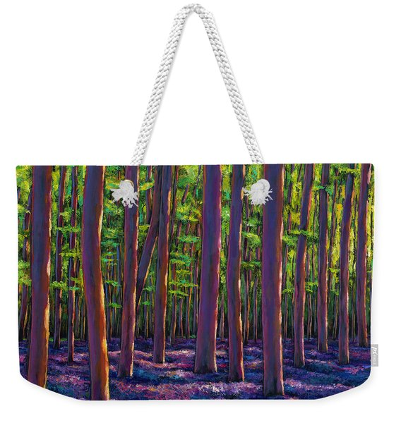 Bluebells And Forest Weekender Tote Bag