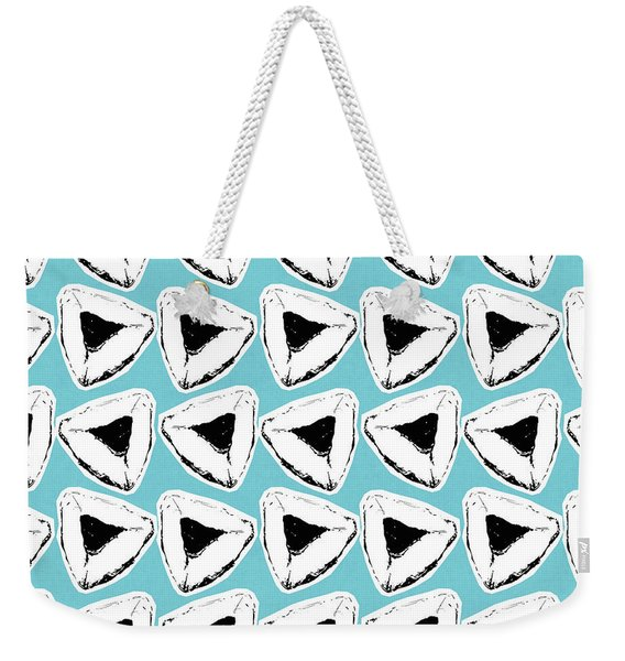 Blueberry Hamentashen- Art By Linda Woods Weekender Tote Bag