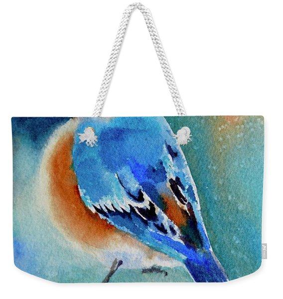 Bluebird #4 Weekender Tote Bag