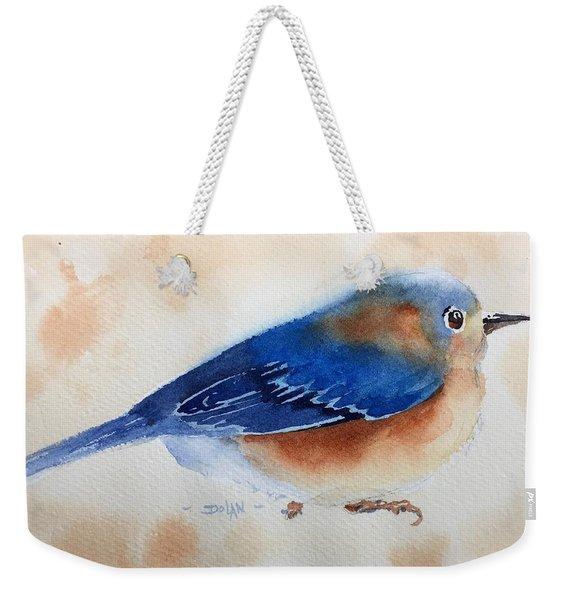 Bluebird #5 Weekender Tote Bag