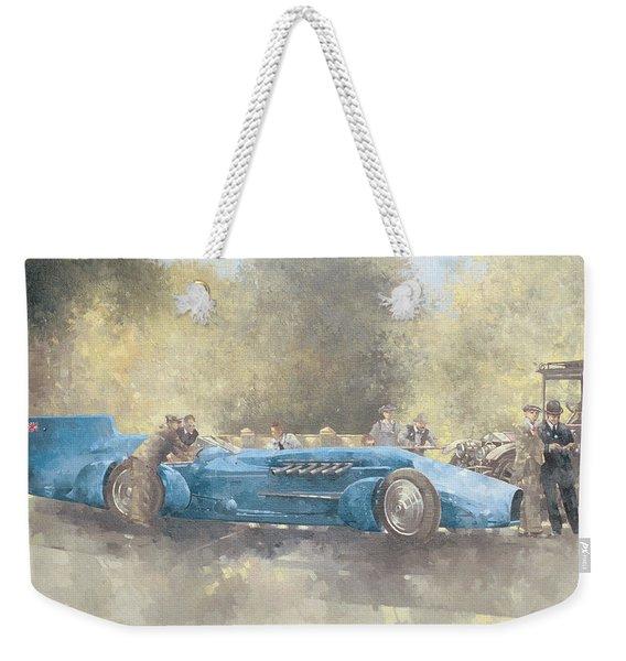 Bluebird And Ghost Weekender Tote Bag