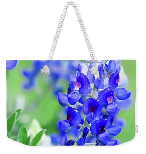 Bluebonnets 071616 Weekender Tote Bag