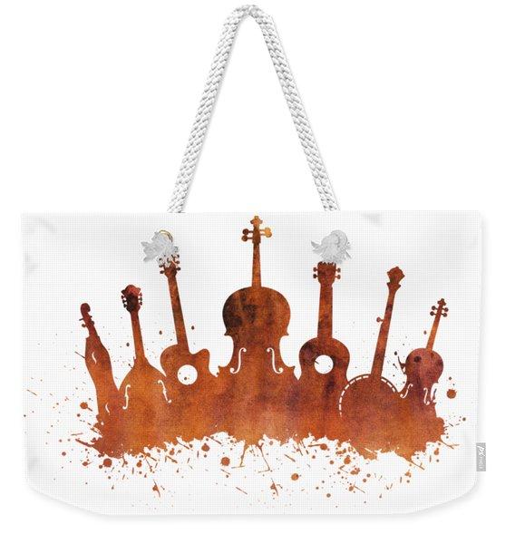 Bluegrass Explosion Weekender Tote Bag