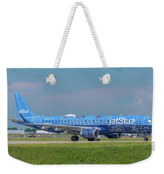 Blueprint Weekender Tote Bag