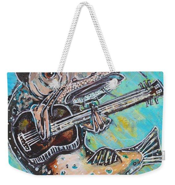 Blues Cat Revisited Weekender Tote Bag
