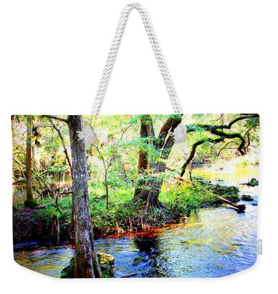 Blues In Florida Swamp Weekender Tote Bag