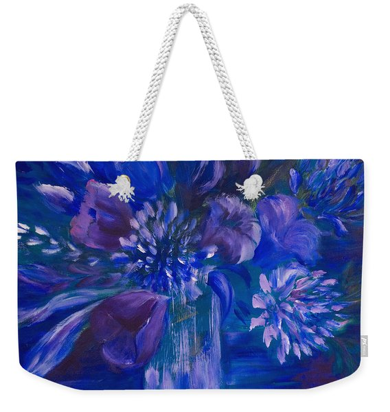 Blues To Brighten Your Day Weekender Tote Bag