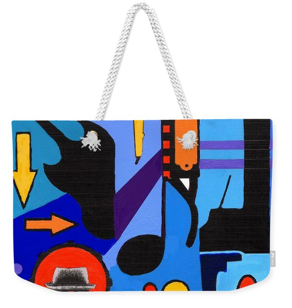 Blues1 Weekender Tote Bag