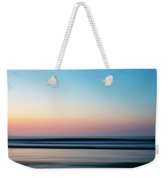 Blurred Weekender Tote Bag