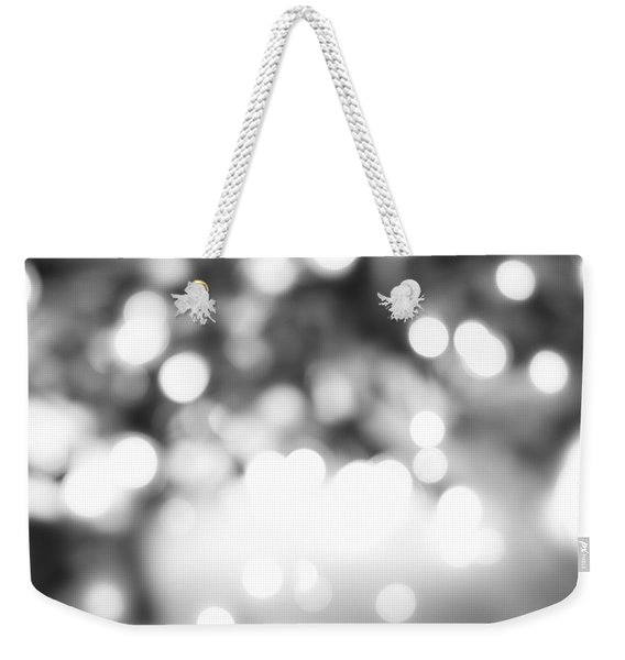 Blurry Abstract Weekender Tote Bag