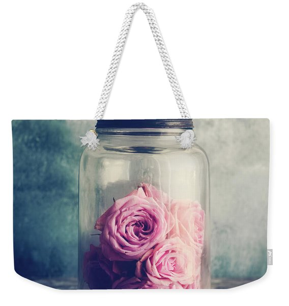 Blush Weekender Tote Bag