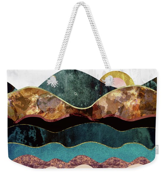 Blush Moon Weekender Tote Bag