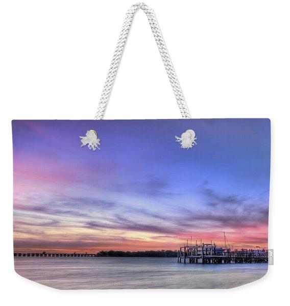 Blushing Skies Weekender Tote Bag