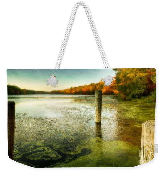 Blydenberg Park In The Fall Weekender Tote Bag