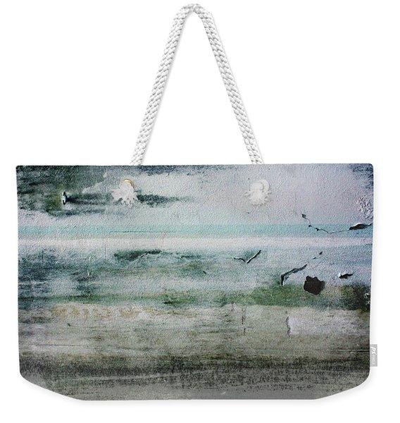 Boardwalk Blues 2- Art By Linda Woods Weekender Tote Bag
