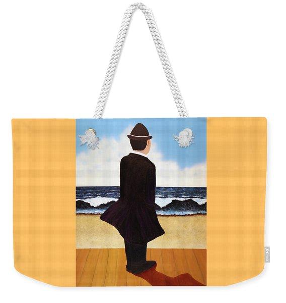 Boardwalk Man Weekender Tote Bag