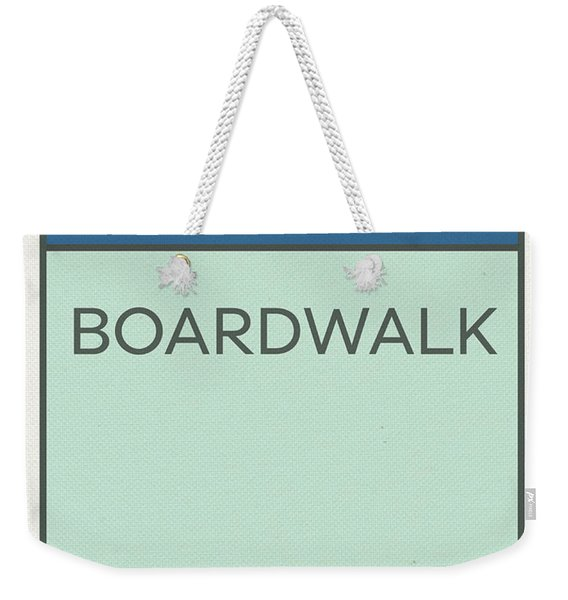 Boardwalk Vintage Monopoly Board Game Theme Card Weekender Tote Bag