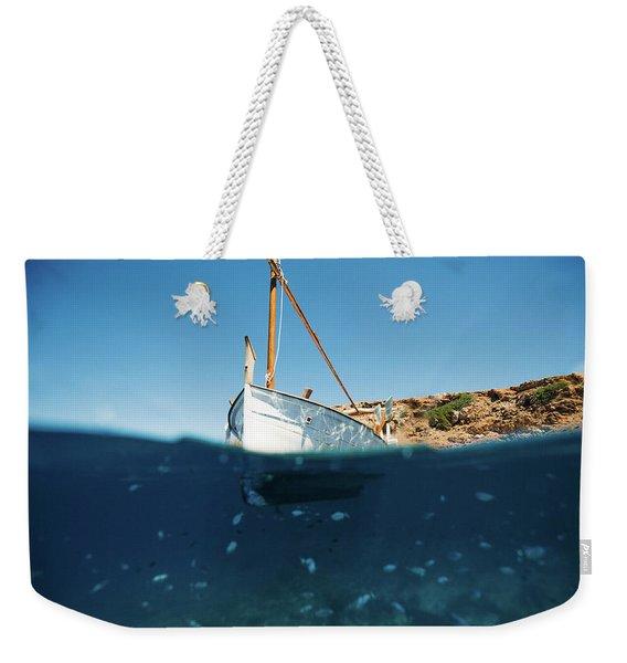 Boat I Weekender Tote Bag