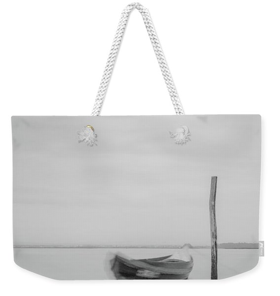 Boat On A Stick Weekender Tote Bag