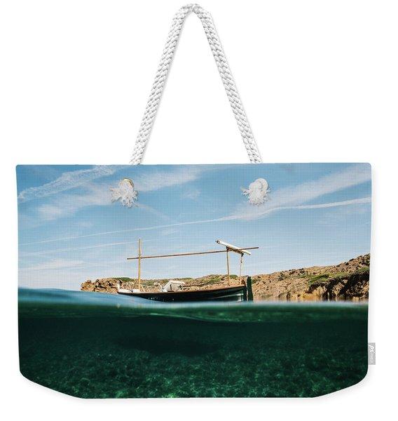 Boat V Weekender Tote Bag