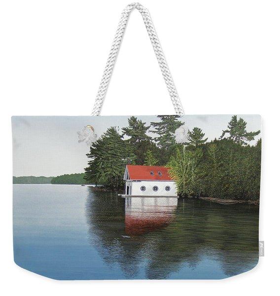 Boathouse Weekender Tote Bag
