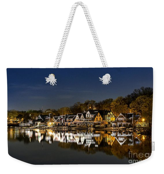 Boathouse Row Weekender Tote Bag
