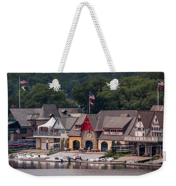 Boathouse Row Philadelphia Pa  Weekender Tote Bag