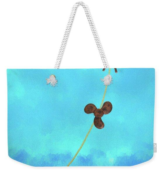 Boating Concept Weekender Tote Bag