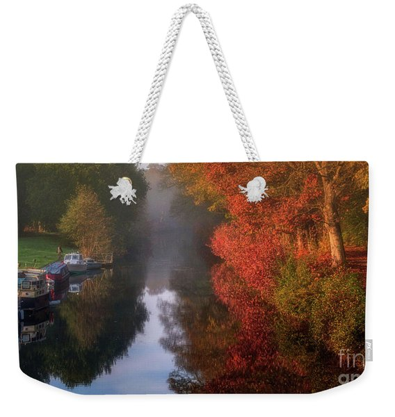 Boats And Channel Weekender Tote Bag