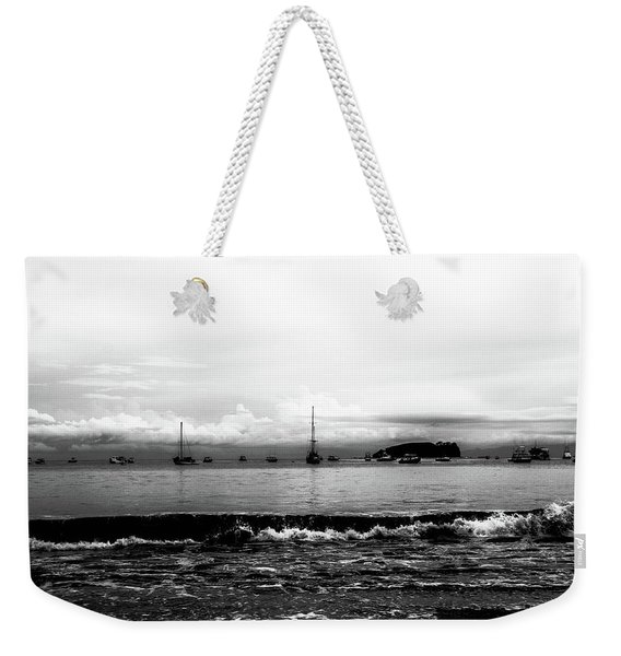 Boats And Clouds Weekender Tote Bag