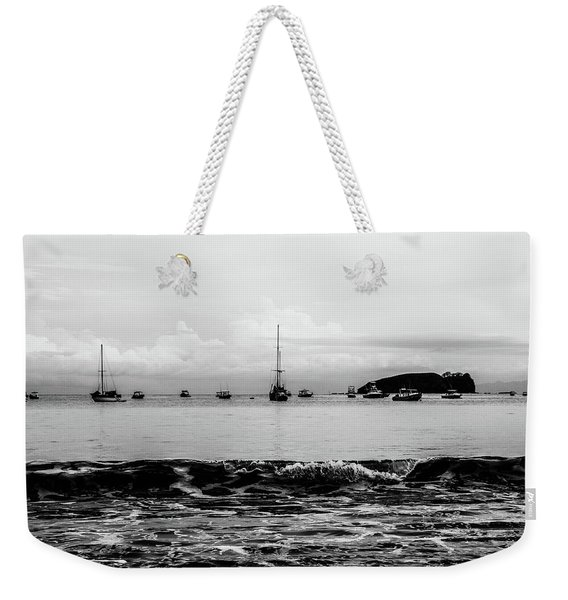 Boats And Waves 2 Weekender Tote Bag