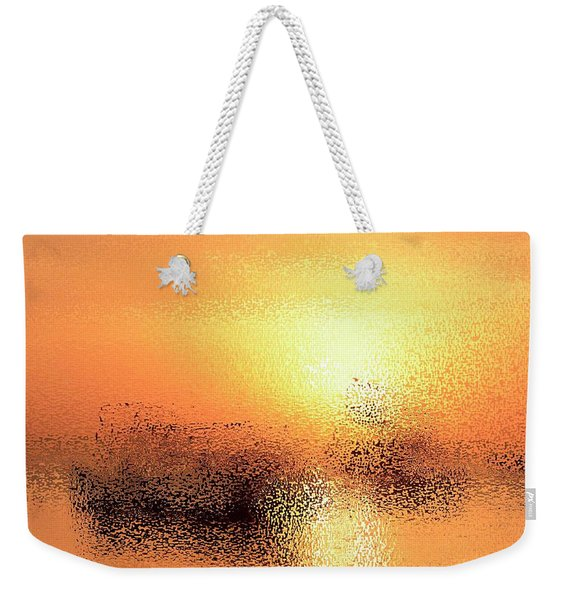 Boats In Gold Weekender Tote Bag