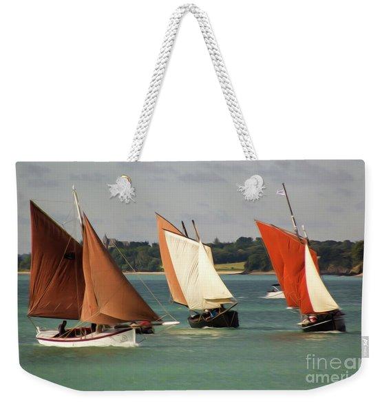 Boatshow 3 Weekender Tote Bag