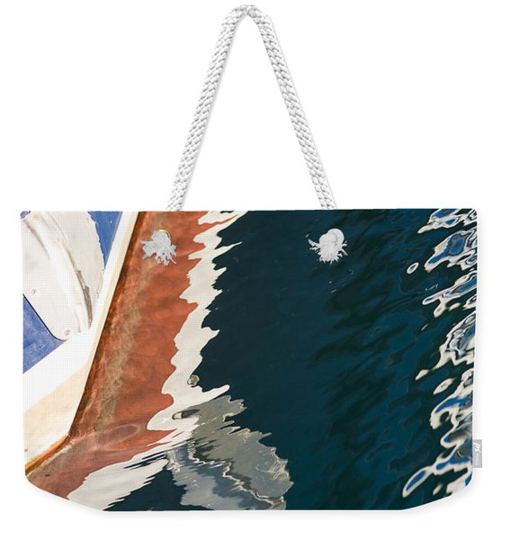 Boatside Reflection Weekender Tote Bag