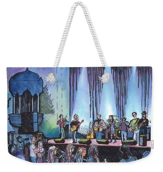 Bob Dylan Tribute Show Weekender Tote Bag