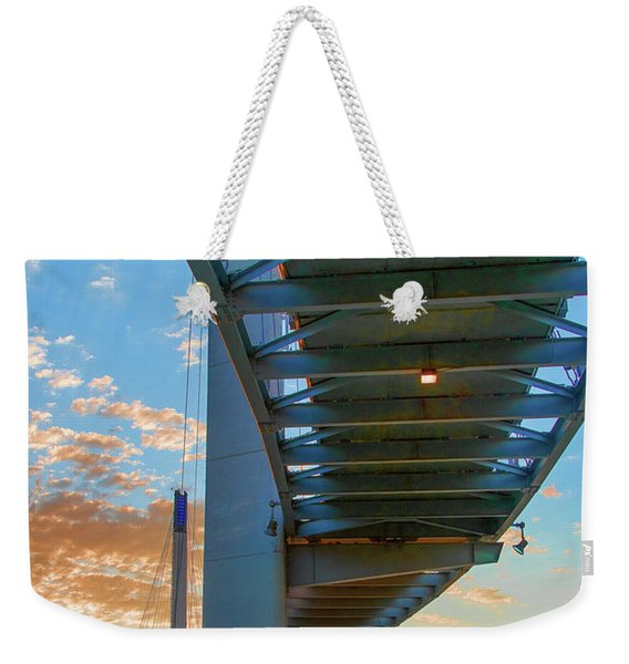 Bob Kerry Bridge At Sunrise-2 Weekender Tote Bag