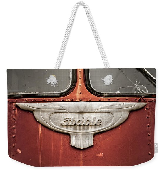 Bob Wills And His Texas Playboys Tour Bus Weekender Tote Bag