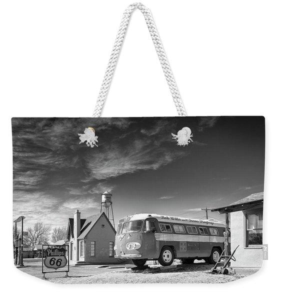 Bob Wills And The Texas Playboys Tour Bus Turkey Tx Weekender Tote Bag
