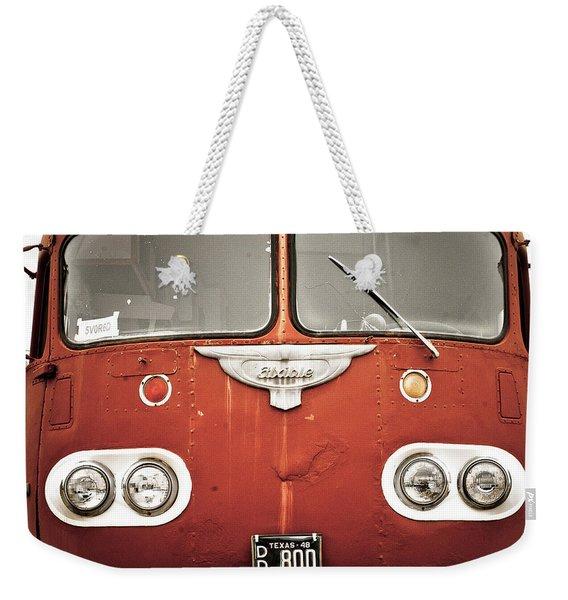 Bob Wills Bus Weekender Tote Bag