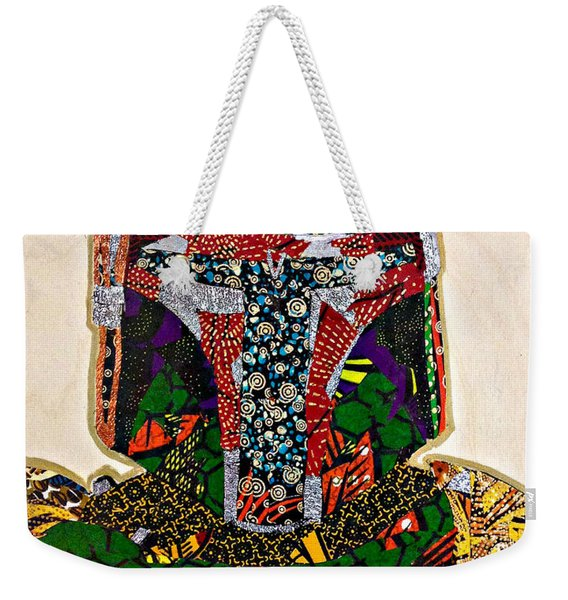Boba Fett Star Wars Afrofuturist Collection Weekender Tote Bag
