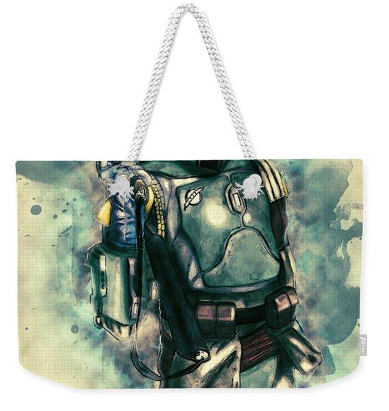Boba Fett Weekender Tote Bag