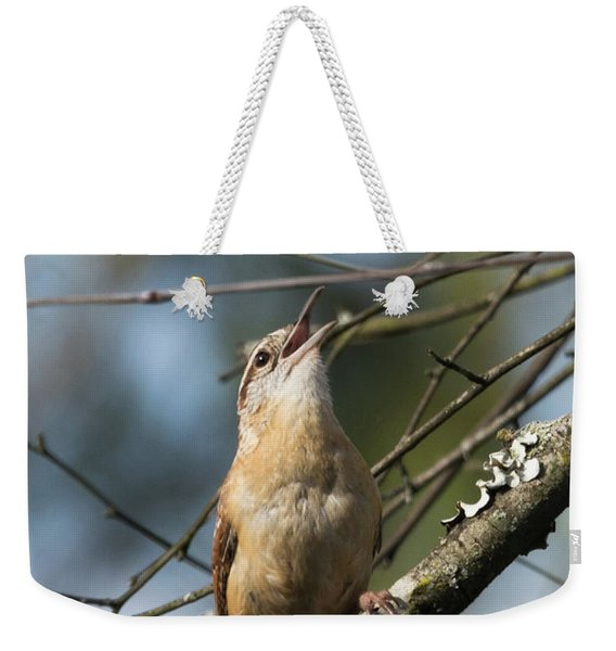 Bobolink Singing Weekender Tote Bag