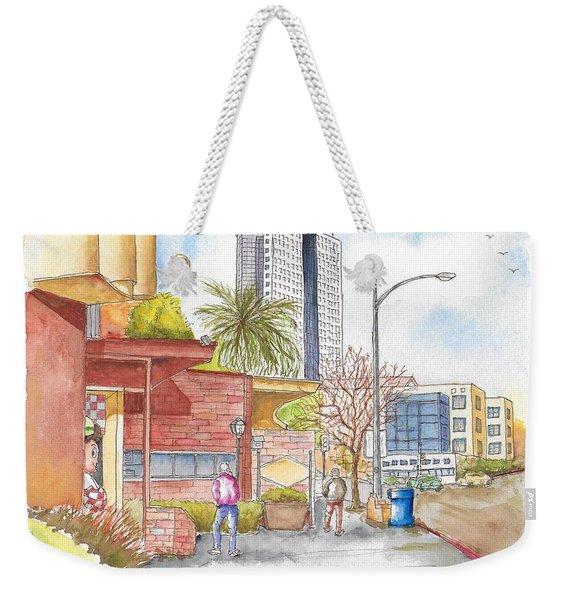 Bob's Coffee Shop In Riverside Dr., Burbank, California Weekender Tote Bag