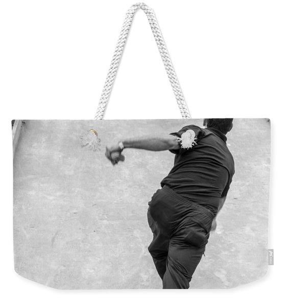 Bocce Ball Weekender Tote Bag