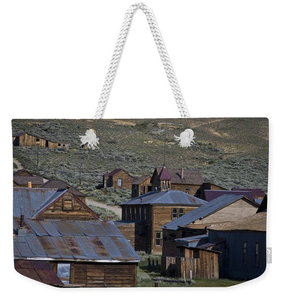 Weekender Tote Bag featuring the photograph Bodie 31 by Catherine Sobredo